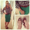 #ootd #patternmixing #gingham