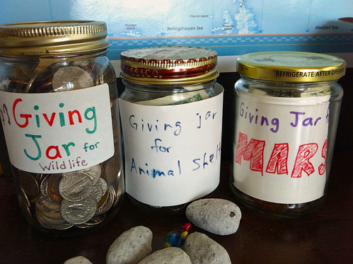 Giving jars