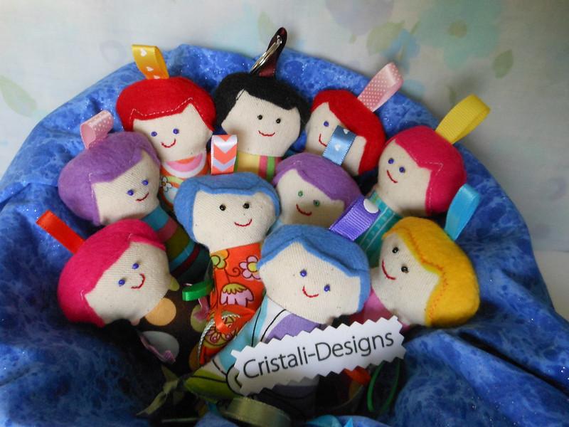 Fabric dolls