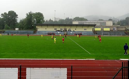 DSC06041: Městský stadion Krupka, home of TJ Krupka.