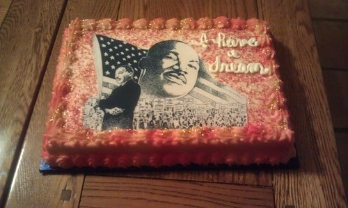 MLK Group Cake
