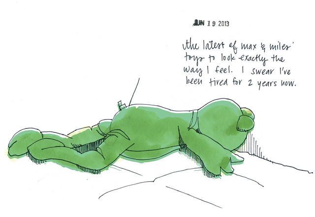 exhaustedfrog