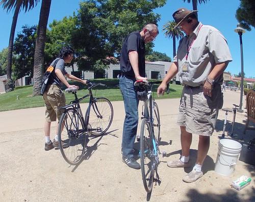 Santa Clara campus free bike repairs