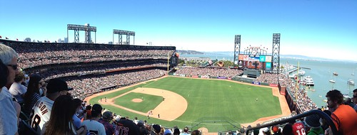 Another Sold Out Crowd at AT&T Park