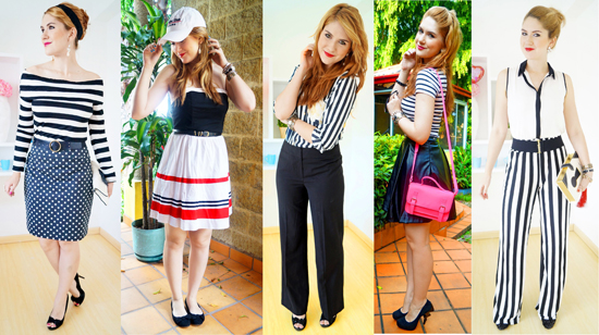 Trending Bold Stripes - B&W SMALL