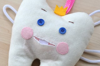 Tooth Pillow close Up