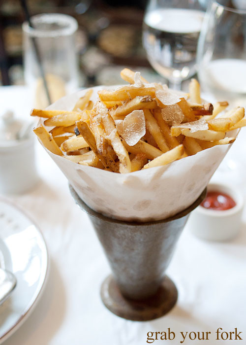 summer truffle fries at bouchon bistro beverly hills la los angeles