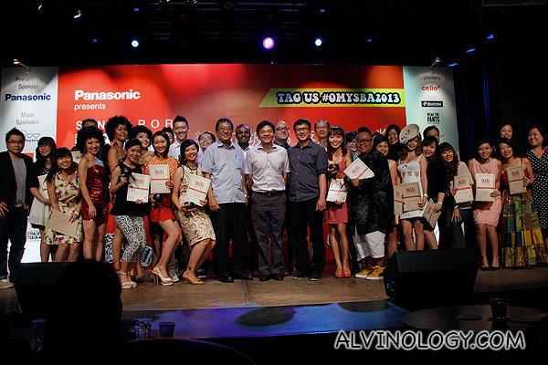 Group picture with all the winners across the 17 award categories with VIPs and sponsors