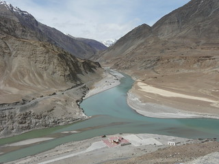 The mighty Indus (Sindhu) River