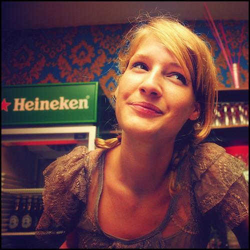 bar girl by andrè t.