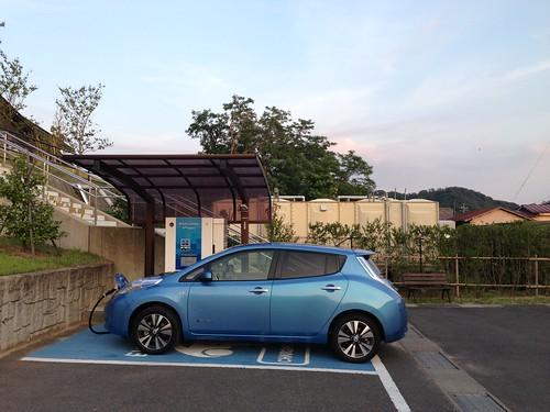 鳥取砂丘砂の美術館  EV急速充電器
