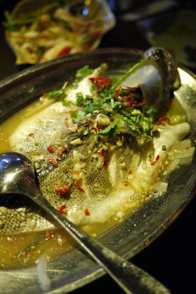 清蒸檸檬鱸魚