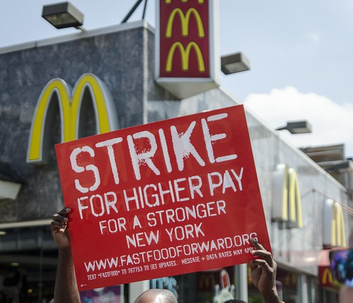 Fast Food Strikes, NYC, July 2013