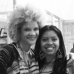 Photo opp with Michaela Angela Davis at P&G event in #NewYork #NYC #speaker #writer #activist #client