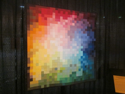 """Pixelated Color Wheel"" by Kati Spencer of Taylorsville, UT"
