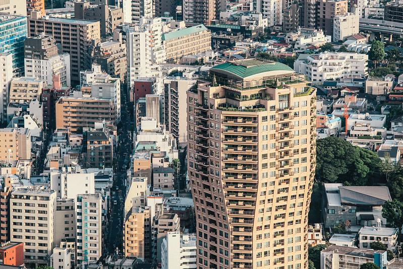 六本木ヒルズ森タワー。