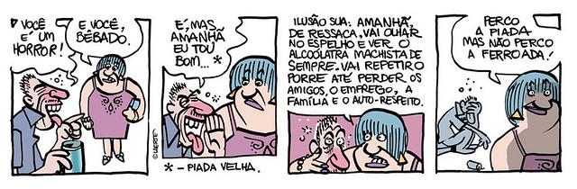 Piada Velha, por Laerte