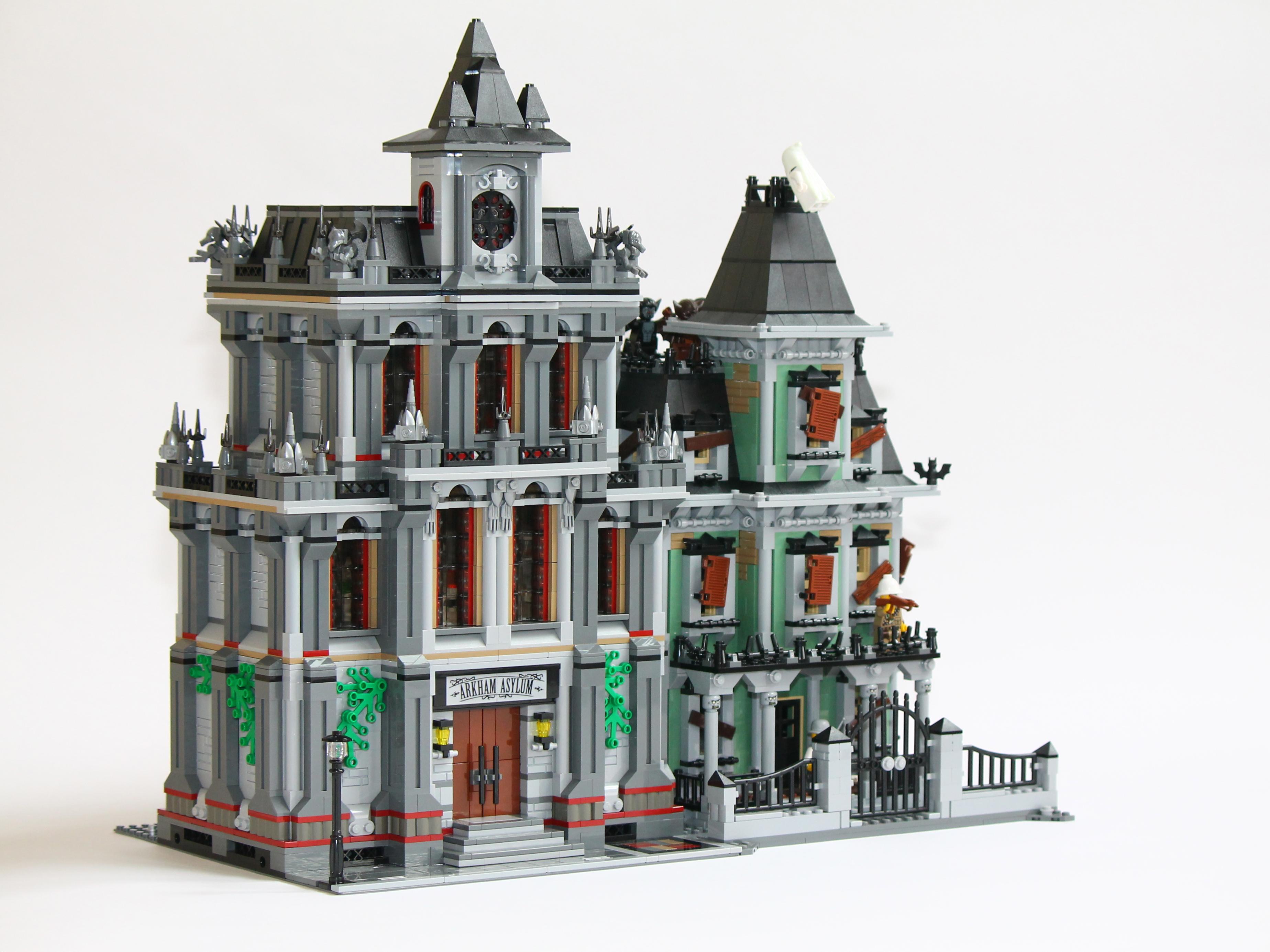 10937 modular building an alternate asylum lego town eurobricks forums - Lego construction maison ...