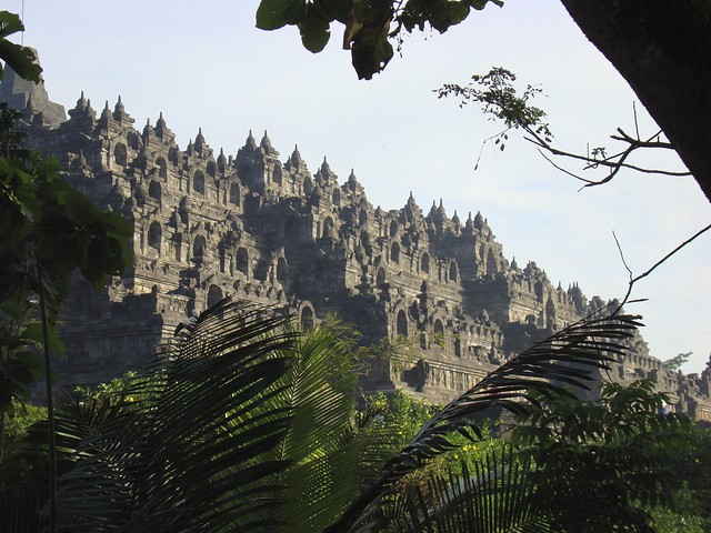 Borobodur: 9th century Buddhist temple