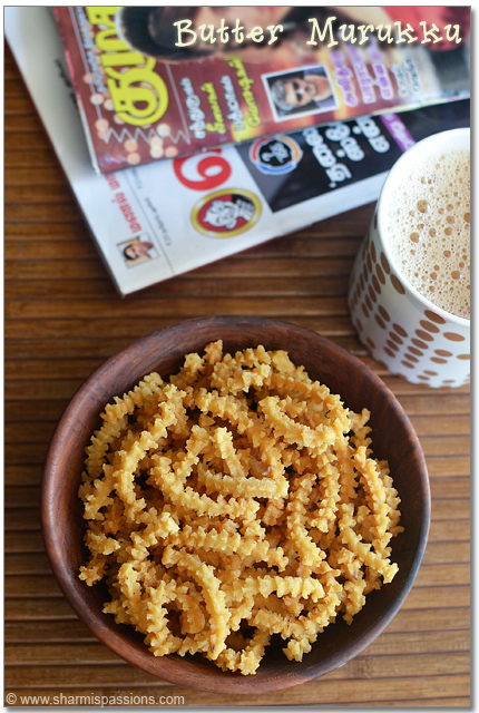 Butter Murukku Recipe