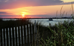 Fire Island Inlet at Sunset, NY
