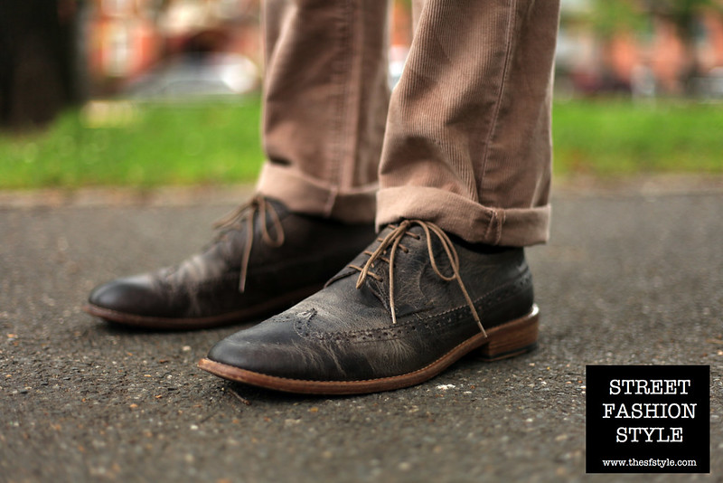 ecco portisco brogues, brooklyn fashion blog, new york fashion blog, street fashion style, brown leather brogues, brown leather wingtips, brown leather oxfords,