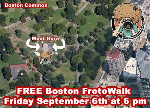 Boston FrotoWALK Friday Sep 6th 2013 6PM