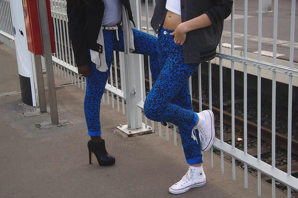 Adidas Neo Team blue challenge lisforlois