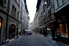 Street View of the Geneva Old Town