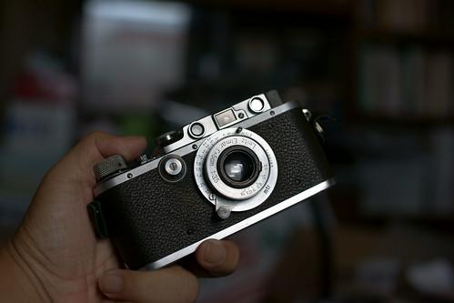 Leica IIIa + Elmar 50mmf3.5(f18)