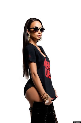 Draya Michele 2013 Rocawear Fall/Holiday Lookbook