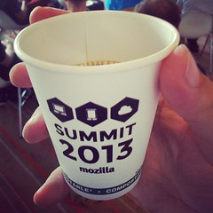 Even the coffee cups are personalised. #MozSummit