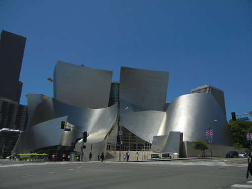 DSCN8633 _ Exterior, Walt Disney Concert Hall, Los Angeles, July 2013