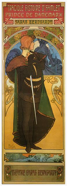Hamlet / Sarah Bernhardt