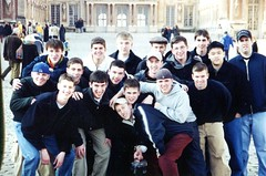 BC High Students at Versailles in 2001