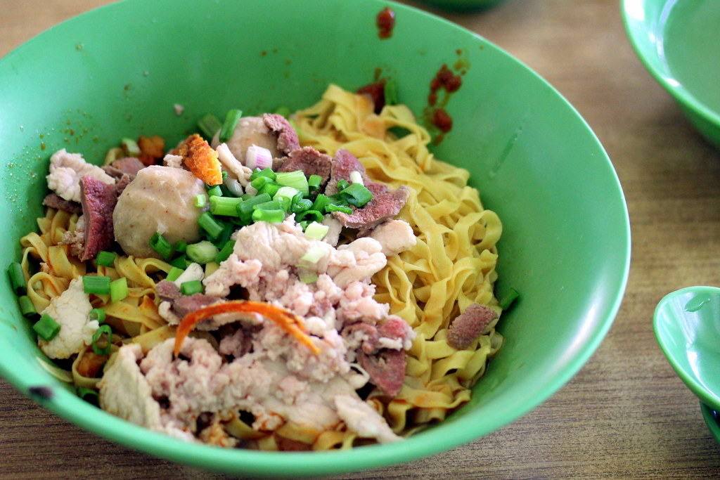 Breakfast East Singapore: Fu Yuan Minced Pork Noodle