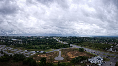 road sky panorama usa cloud house lake building tree water car rain sign landscape automobile cityscape unitedstates florida hills explore clermont centralflorida rosack