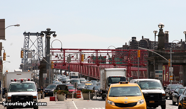 0019a - Williamsburg Bridge - From Suffolk