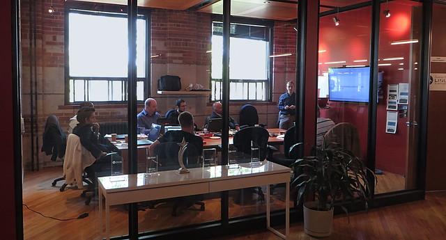 Photo de la salle de formation Aaron Swartz.