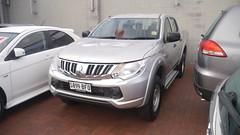 automobile, automotive exterior, sport utility vehicle, vehicle, mitsubishi, bumper, land vehicle,