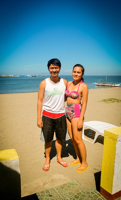 Janna and Nikko Beach