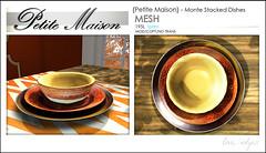 {Petite Maison}  Monte Dishes