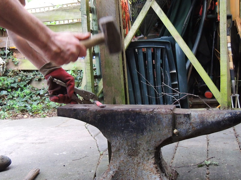 DIY Blacksmithing - Converting Your Barbecue Into a Forge Then Using