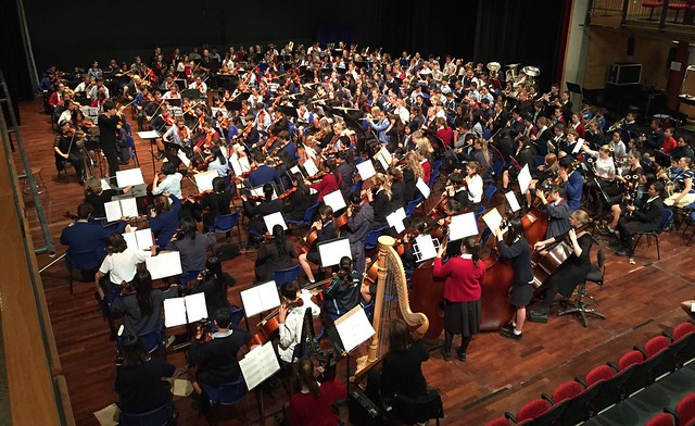 Auckland Philharmonia\'s \'Bring It Together\' orchestra.