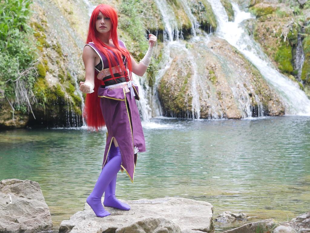 related image - Shooting Erza Scarlet - Robe de Yuen - Fairy Tail - Montferrat - 2015-05-15- P1080623
