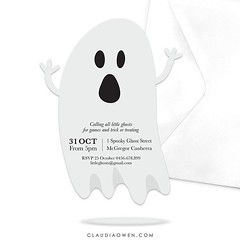 I'm just having too much fun designing Halloween invitations :ghost: #halloween #halloween2016 #partyinvitations #printable #ghost #partysupplies #party