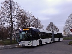 Solaris Urbino 18 IV n°5000  -  Strasbourg CTS - Ligne 71 - Photo of Hochstett