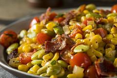 Homemade Succotash with Lima Beans