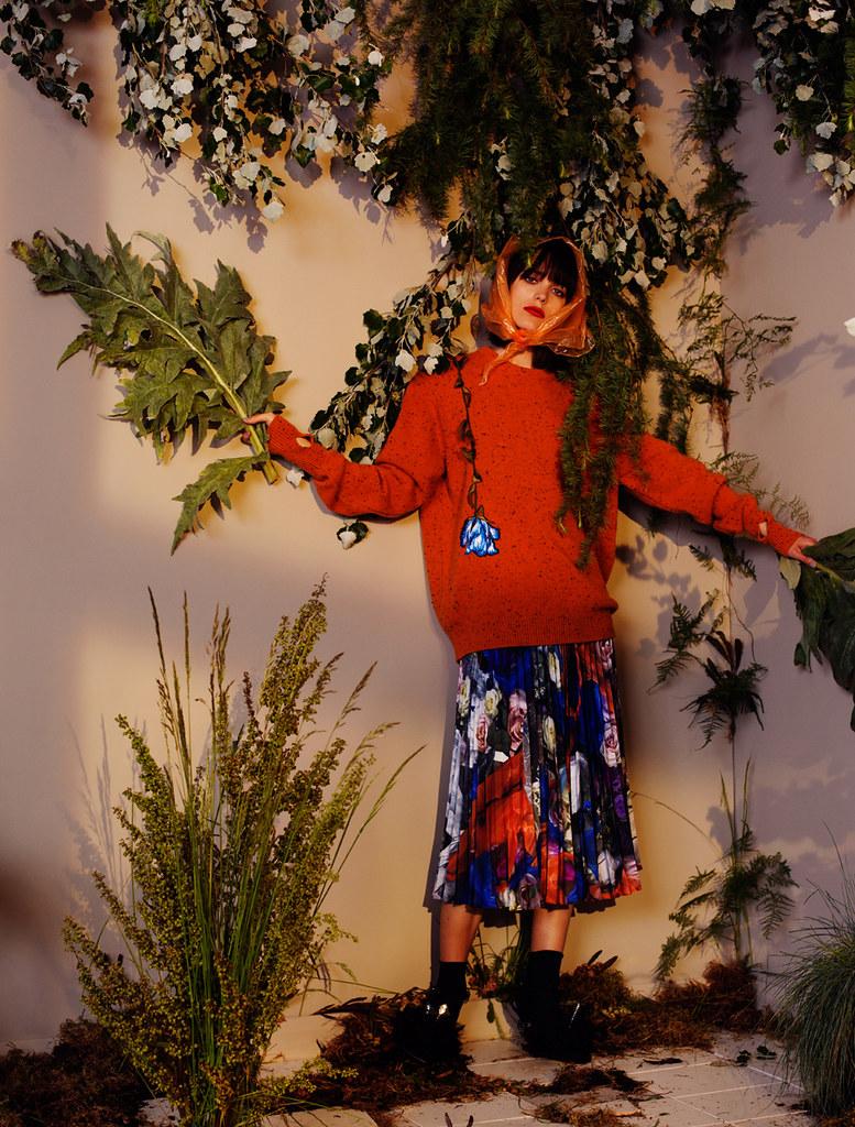 Стэйси Мартин — Фотосессия для «InStyle» UK 2016 – 4