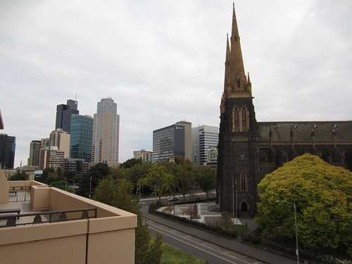 Park Hyatt Melbourne - View from Terrace Suite